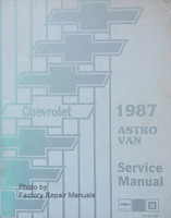 1987 Chevrolet Astro Van Service Manual