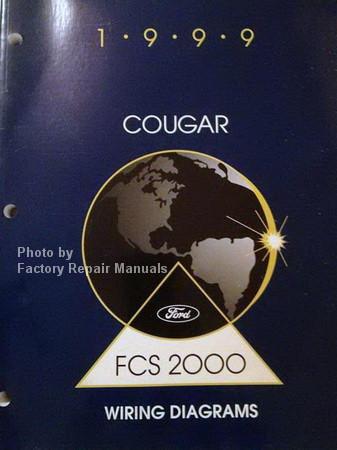 1999 mercury cougar electrical wiring diagrams original. Black Bedroom Furniture Sets. Home Design Ideas