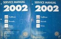 2002 Chevy Trailblazer, GMC Envoy, Olds Bravada Service Manuals