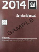2014 2015 Cadillac ELR Service Manuals