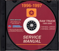 1996 dodge ram truck factory service manual 1500 2500 3500 original rh factoryrepairmanuals com 1996 dodge ram service manual download 1996 dodge ram 2500 owners manual