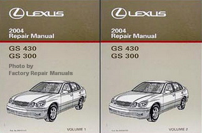 2004 lexus gs430 gs300 factory service manual set original shop rh factoryrepairmanuals com lexus gs 430 repair manual lexus gs 430 repair manual