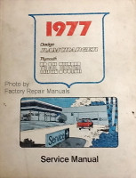 1977 Dodge RamCharger Plymouth Trail Duster Service Manual