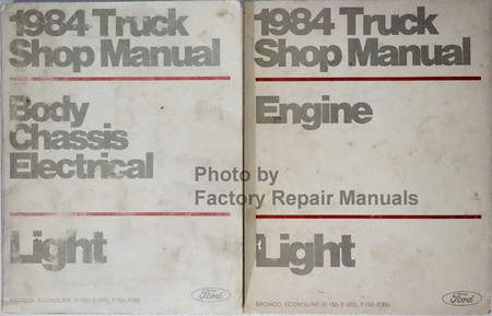 1984 Ford Light Truck Shop Manuals