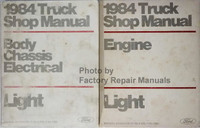 1984 Ford Light Truck Shop Manuals