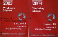 2003 Workshop Manual Lincoln LS Volume 1, 2