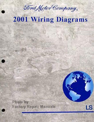 2001 Lincoln LS Electrical Wiring Diagrams Original Ford ...