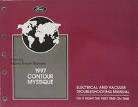 1997 Contour Mystique Electrical and Vacuum Troubleshooting Manual