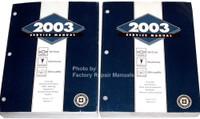 2003 Chevy Venture Olds Silhouette Pontiac Montana Mini-Van Factory Shop Service Manual Set