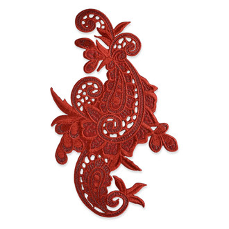 Iron-On Designer Paisley Applique