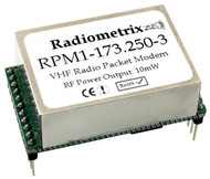 RPM1- UHF Radio Packet Modem Frequency:173.250MHz