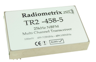 TR2M- UHF Narrow Band FM Multi channel Transceiver 458.5-459.1MHz and 433.05-434.79MHz