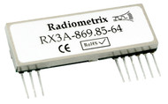 RX3A - UHF FM Data Receiver with RSSI - Frequency 869.85MHz