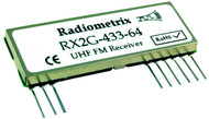 RX2G- UHF FM Data Receiver Module Frequency 433.92MHz 64kbs