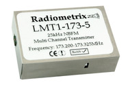 LMT1- VHF NBFM Low Cost multi channel radio Transmitter Frequency bands 173.200 - 173.325MHz