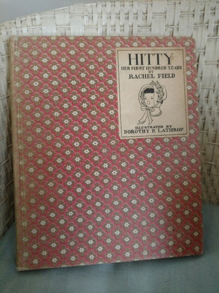 Hitty First Hundred Years Vintage 1930s Book Rachel Field