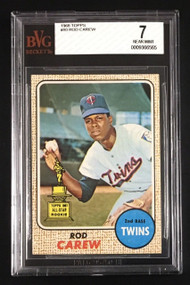 1968 Topps #80 Rod Carew - BVG 7 -2nd Year!