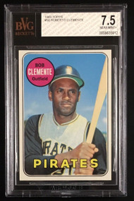1969 Topps #50 Roberto Clemente - BVG 7.5 NM+ -Centered