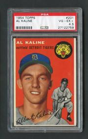 1954 Topps #201 Al Kaline Rookie PSA 4.5 - Centered