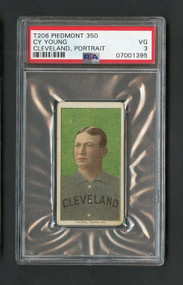 t206 Cy Young Baseball Card (Portrait)