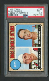 Johnny Bench Rookie baseball card