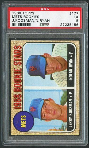 Nolan Ryan Rookie Baseball Card