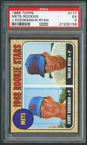 Nolan Ryan Rookie Baseball Card