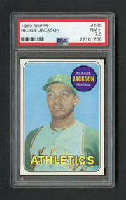 Reggie Jackson Rookie Baseball Card