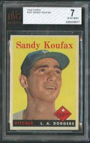 Sandy Koufax Vintage Baseball Card
