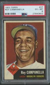 1953 Topps Roy Campanella #27 HOF PSA 6 - Centered