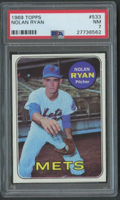 1969 Topps Nolan Ryan #533 PSA 7 - Centered