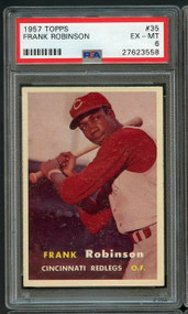 1957 Topps Frank Robinson RC Rookie #36 HOF - Centered