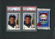 1989 Upper Deck Ken Griffey Jr. PSA 10 Plus Lot