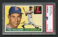1955 Topps Ted Williams #2 White Back HOF PSA 5 Centered