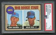 1968 Topps Nolan Ryan RC Rookie #177 HOF PSA 5 Centered