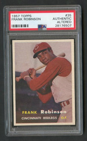 1957 Topps Frank Robinson RC Rookie #35 PSA Authentic (Read History of Card)