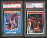 1988 Fleer & 1990 Michael Jordan PSA Lot