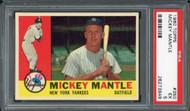 1960 Topps Mickey Mantle #350 HOF PSA 5
