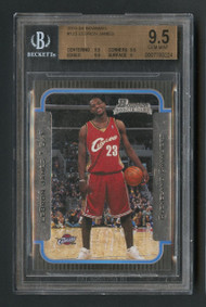 2003 Bowman Lebron James RC Rookie #123 BGS 9.5 Gem Mint