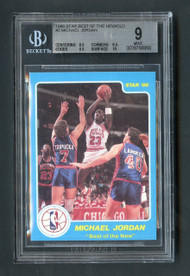 1986 Star Michael Jordan #2 RC Rookie BGS 9 Mint w/10 sub & 2 9.5's