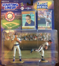 "1999 Starting Lineup Greg Maddux ""Classic Doubles"" Error with Alex Rodriguez (mistake) - RARE!"