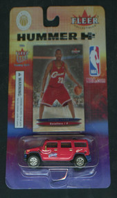 2003 Fleer Collectibles Lebron James' Hummer H2 with Fleer Ultra Rookie (Unopened)