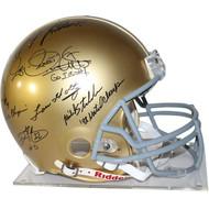 1988 Notre Dame Signed Helmet