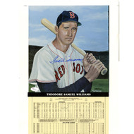 Ted Williams Signed Limited Edition Wambridge 12x19 Print (JSA)