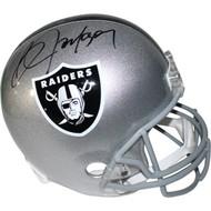 Bo Jackson autographed helmet