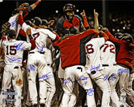 Boston Red Sox Signed World Series Photo