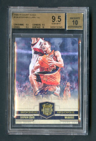 2009 Court Kings Steph Curry RC Rookie Auto BGS 9.5 Gem Mint