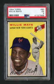 1954 Topps Willie Mays #90 HOF PSA 5 - Centered