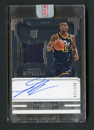 2018 Dominion Donovan Mitchell RPA RC Patch Auto/199 Uncirculated