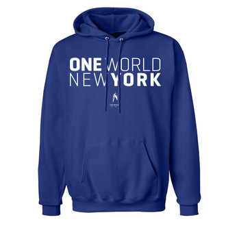 One World Observatory Blue Hoody